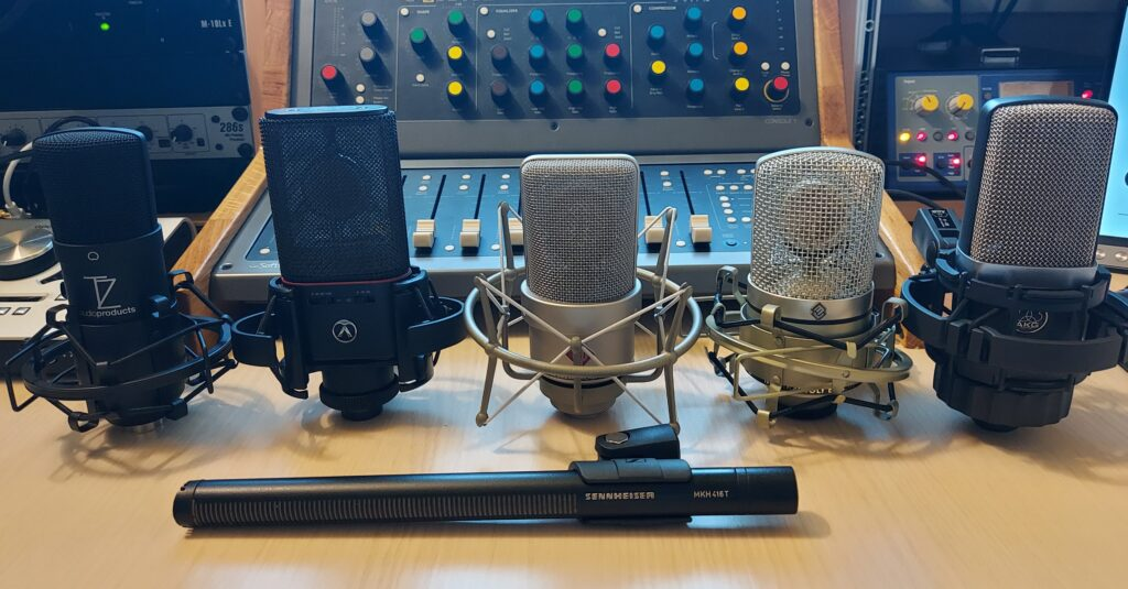 Branimir Jelčić microphone equipment for voiceover